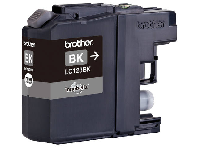INKCARTRIDGE BROTHER LC-123 ZWART 2