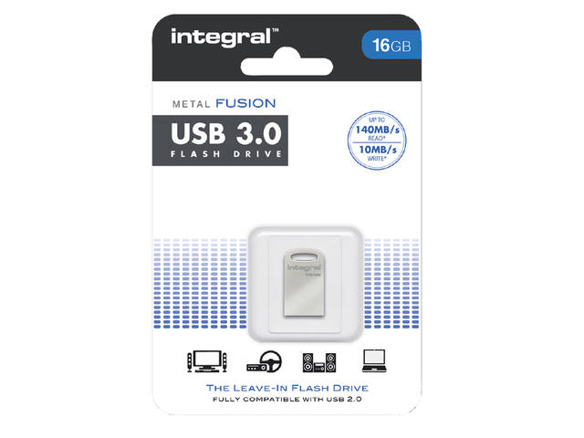 USB-STICK INTEGRAL FD 16GB METAL FUSION 3.0 1