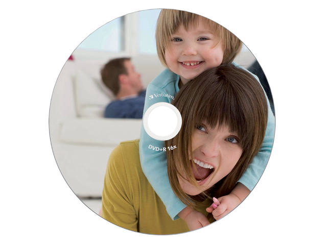 DVD-R VERBATIM 4.7GB 16X PRINTABLE 10PK JC 2