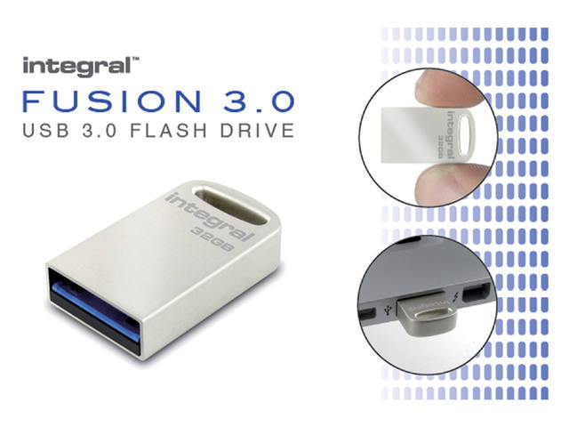 USB-STICK INTEGRAL FD 16GB METAL FUSION 3.0 3